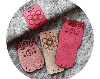 9x tags APLACA knitting tags. handmade tags. sewing tags. crochet tags. tags for handmade. tags for clothing. cute tags funny labels love