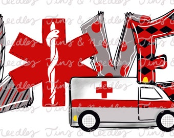 Ambulance party | Etsy