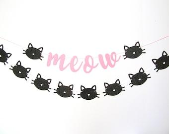 Kitty Cat Garland Etsy
