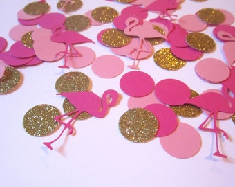 Flamingo Confetti | Flamingle Confetti | Flamingo Party | Lets Flamingle Decor | Flamingo Birthday | Lets Flamingle Party | Last Flamingle |
