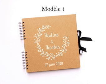 CLEARANCE SALE!!! Personalized wedding guestbook 3 models to choose from