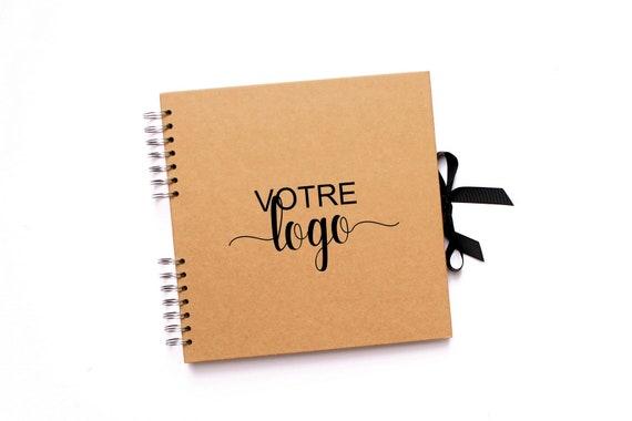Livre D Or Mariage Kraft Logo Personnalise Les Envies De Cleo