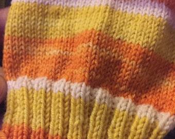 Candy Corn -Ready to Ship - Lariat Sport  sock yarn