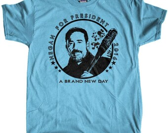 Men's Negan for President The Walking Dead Regular Fit T-Shirt