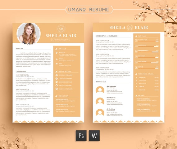 Resume Template Free Cover Letter For Word