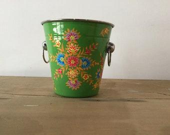 Kashmir   Handpainted lassi pot