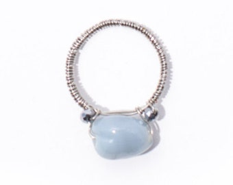 One-of-a-Kind Glass Bead Ring