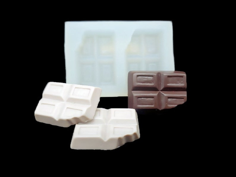 Handmade Silicone Mold Mould for deco sugar chocolate dessert ice resin candle wax clay plaster diffuser soap 2 Mini Chocolate