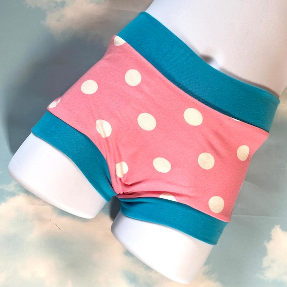 Tuck Buddies 2.0 - pink polka dots - kiddo sizes