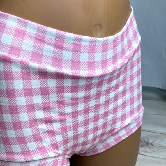 Tuck Buddies 2.0 - pink gingham - adult sizes