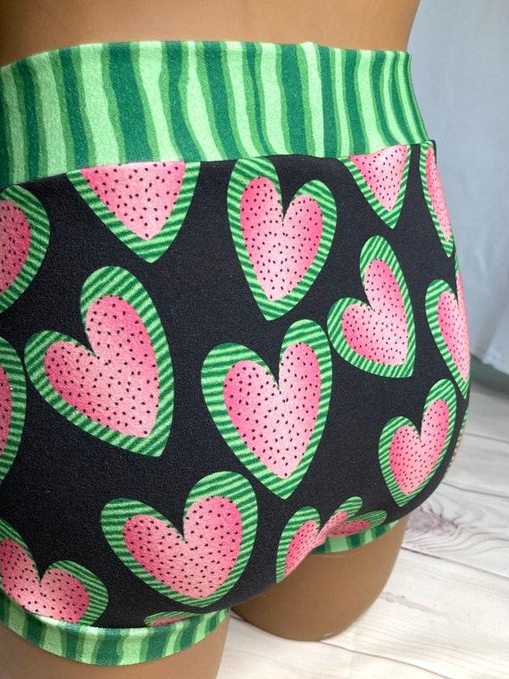 Tuck Buddies 2.0 - watermelon hearts - kiddo sizes