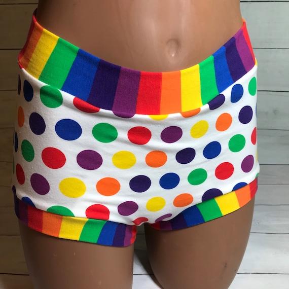 Tuck Buddies 2.0 - rainbow dots pride print - adult sizes