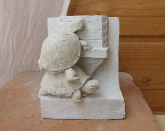 Turtles, resin figurine.