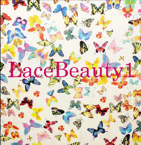 ... Robe de soie papillon colorée avec impression papillon soie soie Venise  vêtements de soie floral soie ... 37fffe54a3f