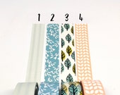 Spring Patterned Washi Tape 5m Planner Tape, Japanese Masking Tape, Planner Supplies, Crafting Tape, Deco Tape, Planner Border Tape