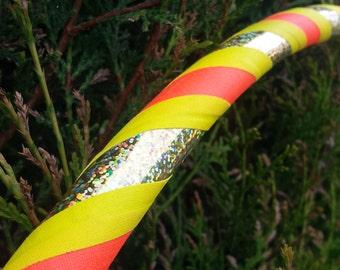Circular Sunshine Collapsible Hula Hoop   Custom Size