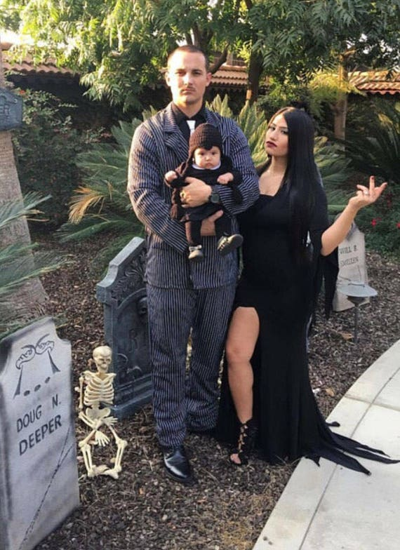 Crochet Wednesday Addams Wig Addams Family Costumes Halloween Costume