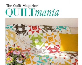 SALE!! Quiltmania Magazine - July/August 2017