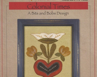 Colonial Times Pattern by Norma Whaley - Timeless Traditions Designs - Kit Available!!