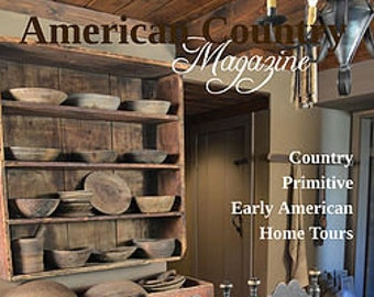 Just in!! American Country - Spring 2018 issue!!