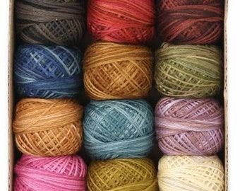 Valdani 3 strand floss Collection - Scent of Flowers - 12 balls - 32 yards each - FREE SHIPPING