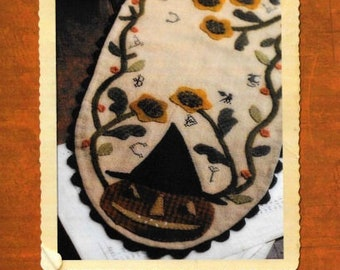 SALE!! Halloween Sampler Table Runner by Country Stitches