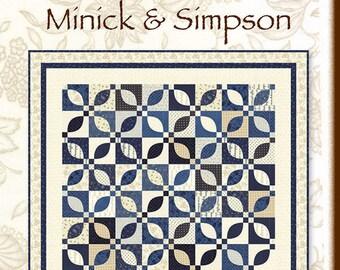 Blue Garden Quilt Pattern by Minick & Simpson