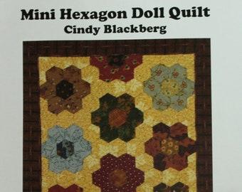 SALE!! Cindy Blagberg Mini Hexagon Stamp