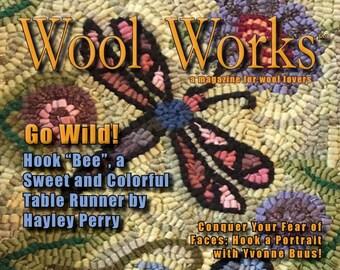 JUST IN!! Wool Works Magazine - Summer 2018