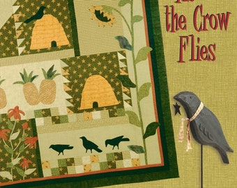 SEASONAL CROW PINCUSHION SEWING PATTERN from As The Crow Flies *NEW*