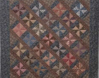 SALE!! Civil War Legacies Quilt Pattern - Miss Mary's Pinwheels - Carol Hopkins
