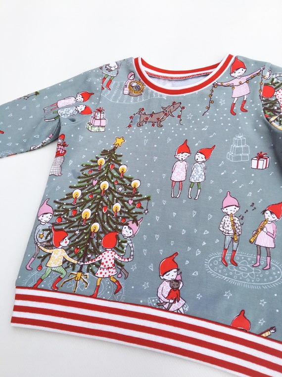 22f863eed Christmas jumper Organic baby clothes Christmas outfit