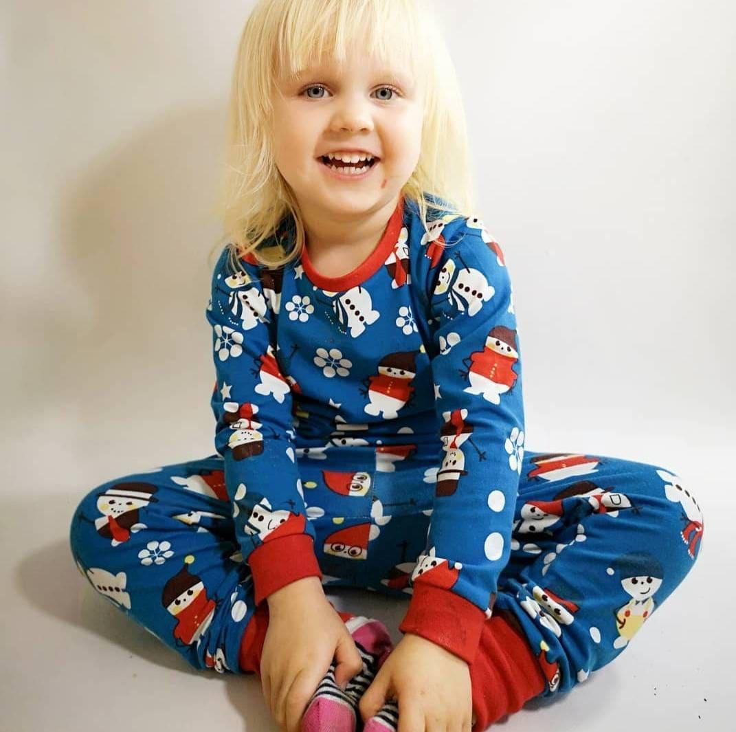 6f045441fb8 Organic Christmas pyjamas Baby Snowmen PJ s Childrens