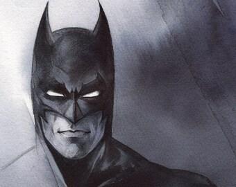 Batman // Print on matte paper // Print on mat paper // Gift Noel // Gotham // Dark Knight
