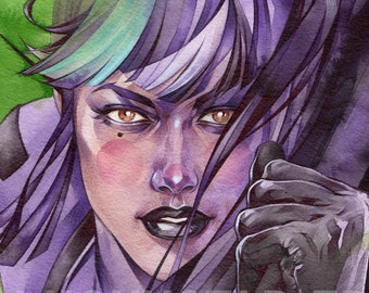 Punchline // Impression poster // Paper print // Gotham