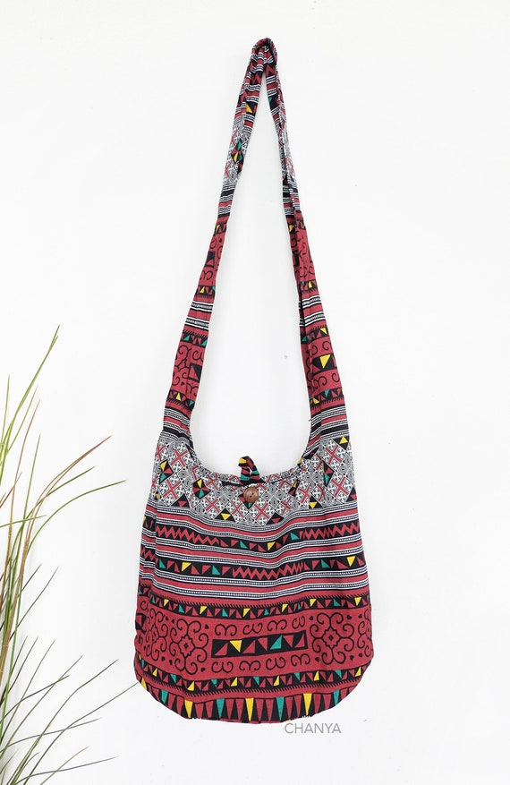 hippie shoulder bag pattern