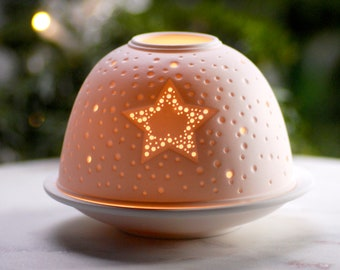 Ceramic Tea Light Etsy