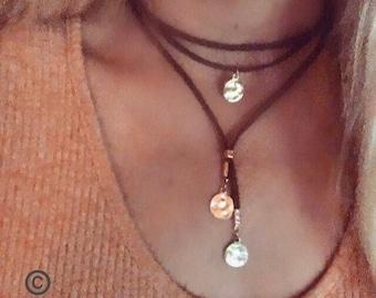 Choker//layered choker//bohemian choker//boho choker//Hippie necklace//boho necklace//gypsy jewelry//bohemian jewelry