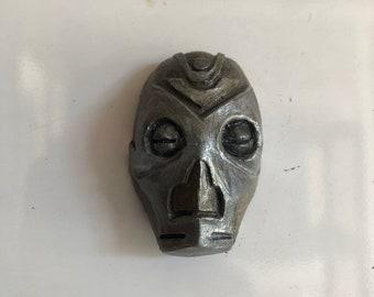 Dragon Priest mini mask magnet inspired by Elder Scrolls: Skyrim