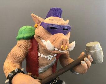 Bebop Fanmade figure inspired by Teenage Mutant Ninja Turtles Series