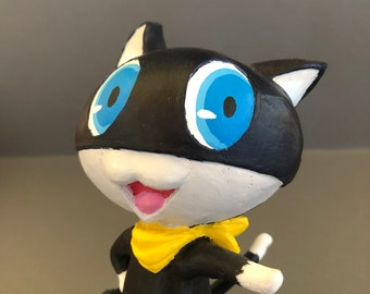 Morgana Fanmade Figure Inspired by the Persona Series