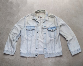 Denim Jacket Levis Etsy