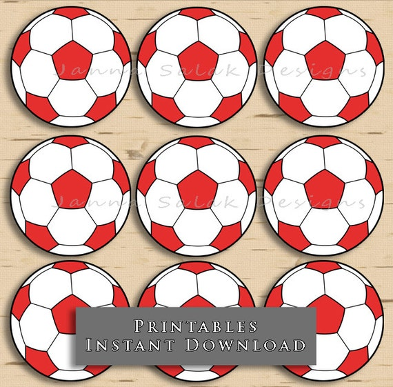 It is an image of Monster Soccer Ball Printable