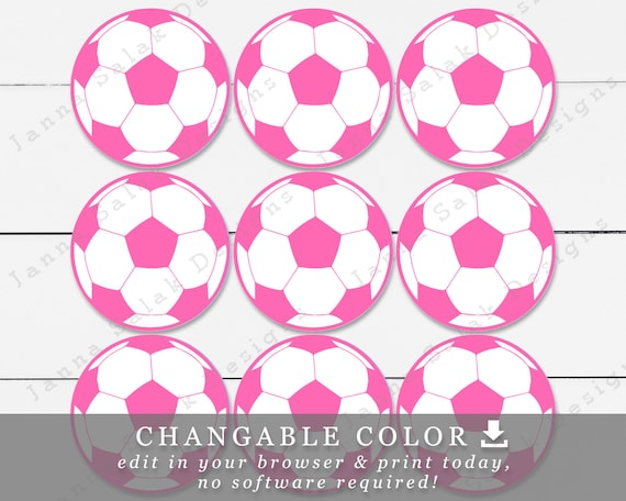 image regarding Printable Soccer Ball named 2.5\