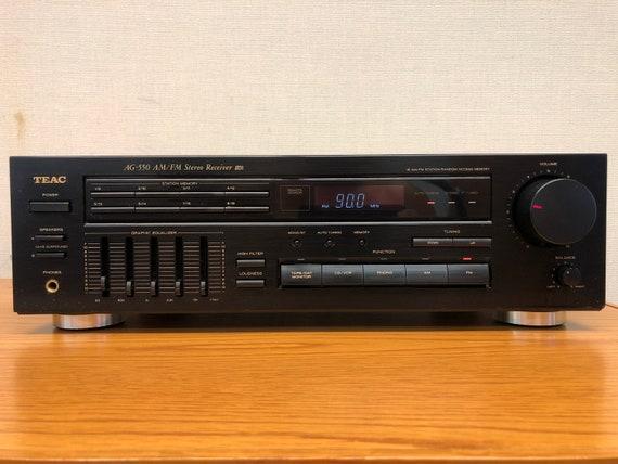 Teac AG 550 AM FM Stereo Receiver