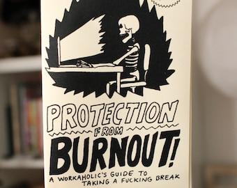 burnout protection | mini zine & worksheet