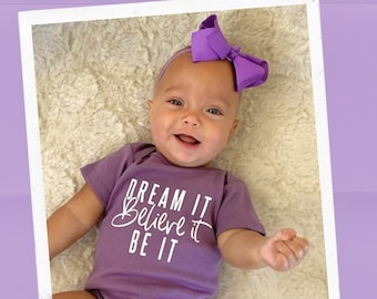 Inspirational Baby! Organic Baby Clothes, Baby Girl, Yoga Baby, Unique Baby Shower Gift, Baby Bodysuit, Cute Baby Clothes, Baby One Piece