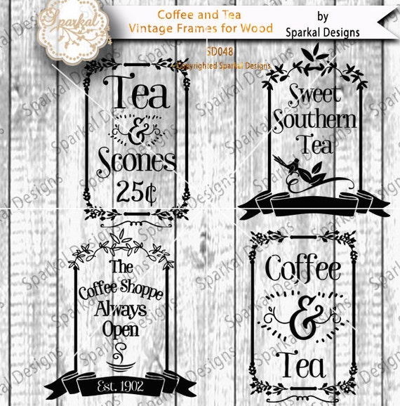 vintage coffee shop sign stencil quotes coffee sayings
