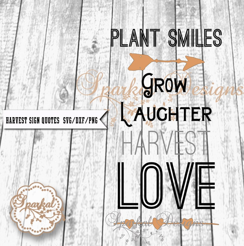 harvest quote svg cutting file wall decal svg dxf png wood | etsy