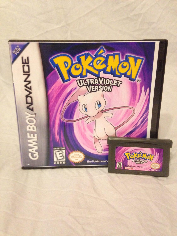 Pokemon Ultra Violet Fan Made Custom Game Boy Advance Game.